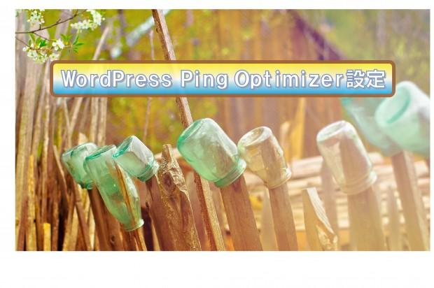 WordPress Ping Optimizerの設定