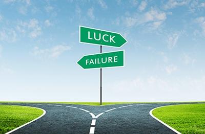 運をコントロールするイメージ