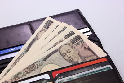 お金持ちの長財布