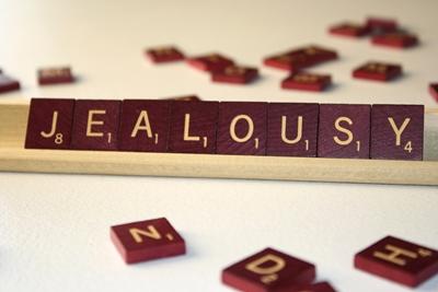嫉妬のイメージ