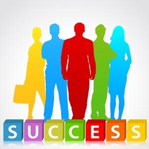 ネットビジネスで成功した人のイメージ