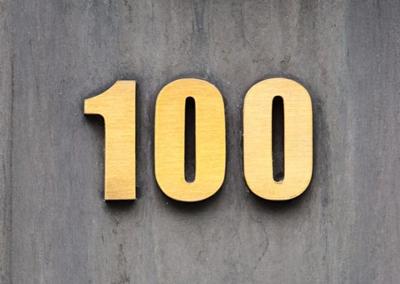 100という数字