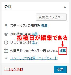 WordPress、投稿日編集、アドセンス審査