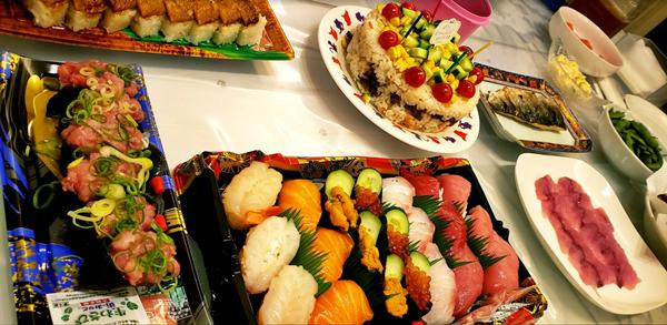 実際に食べたお寿司などの料理